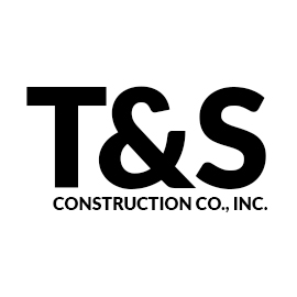 T&S Construction Company Logo