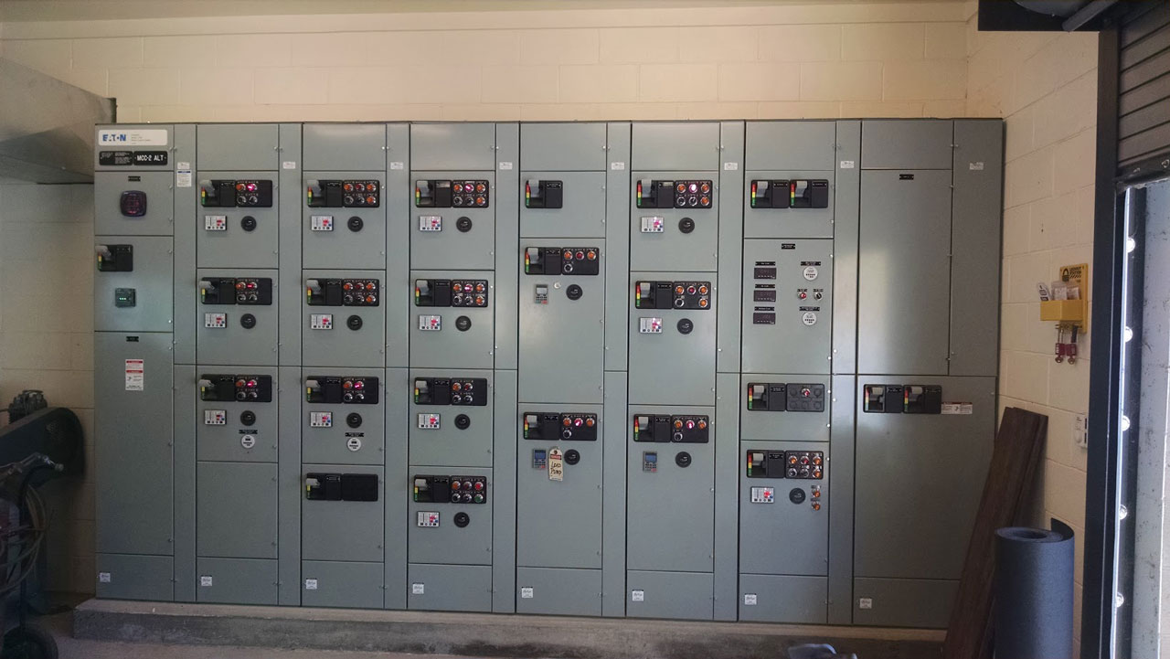 Electric Controls at Dunsmuir Wastewater Treatment Plant