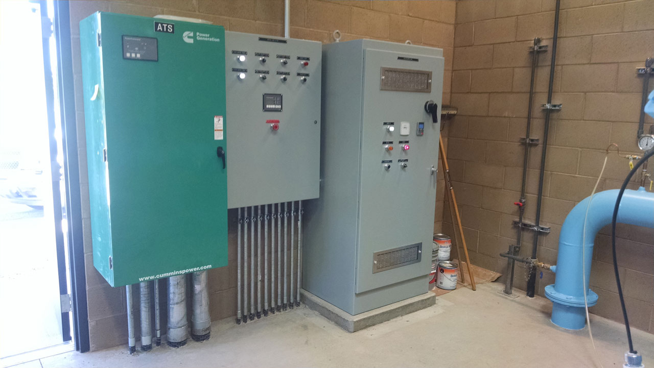 Electric Boxes for South Weed Well Project