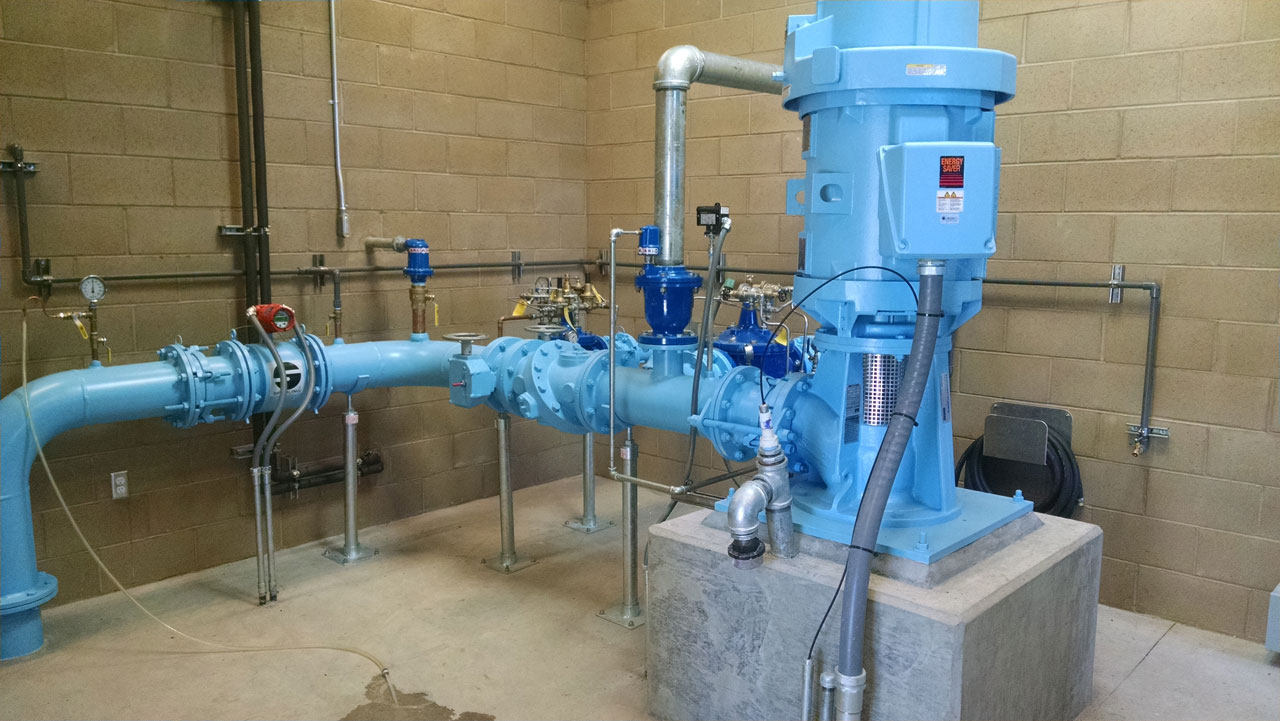 Piping System for South Weed Well Project